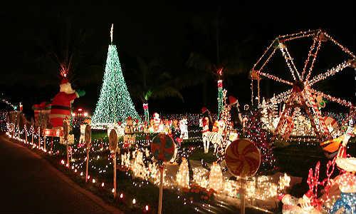 Luces de navidad spanish in the usa - Casas decoradas en navidad ...