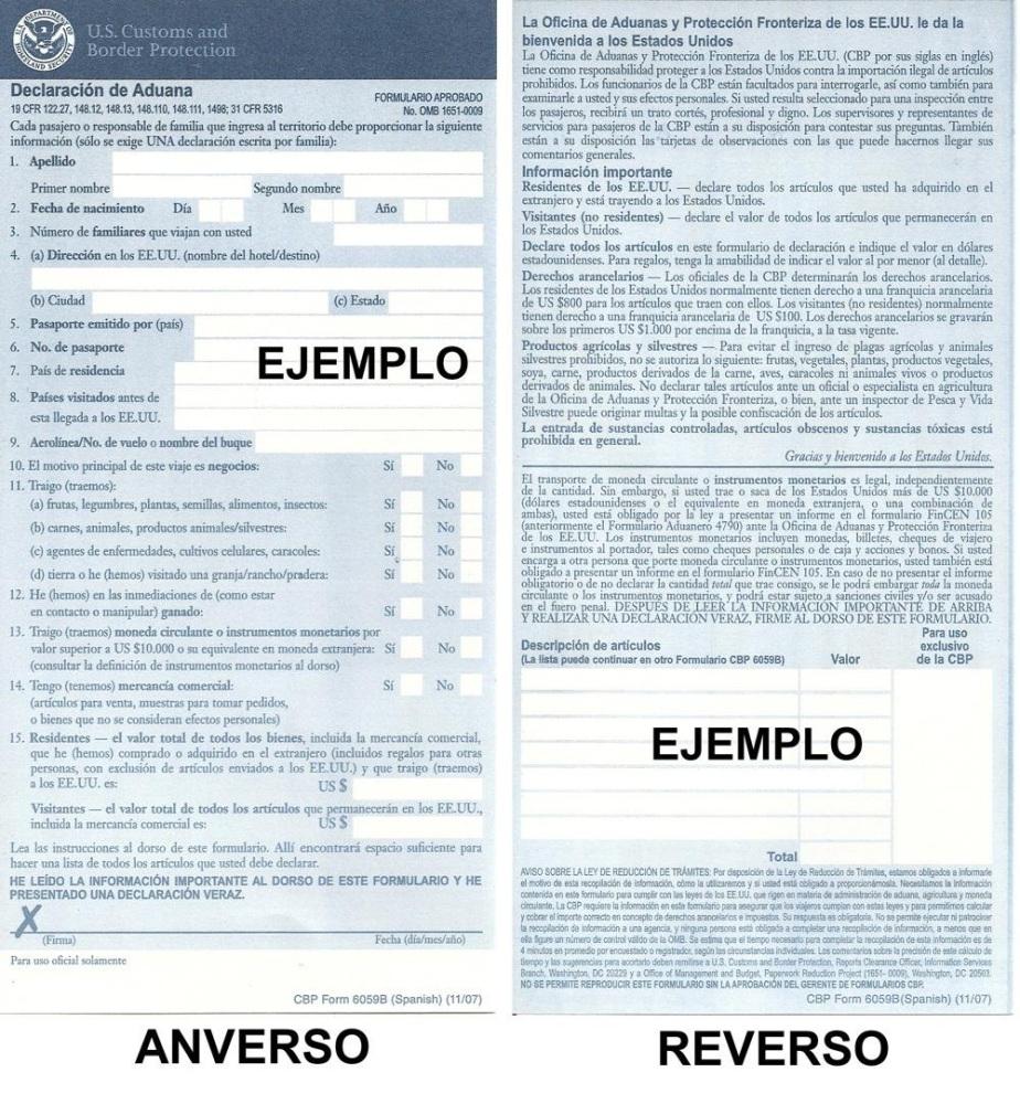 Proceso de entrada (I): documentos a bordo