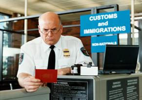 Proceso de entrada (II): llegada al aeropuerto (2/4)