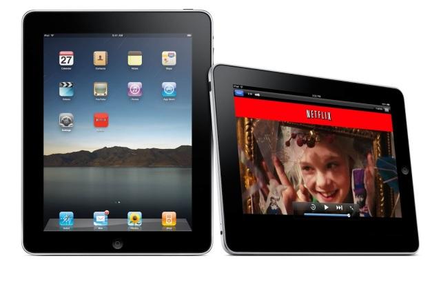 Netflix iPad UI