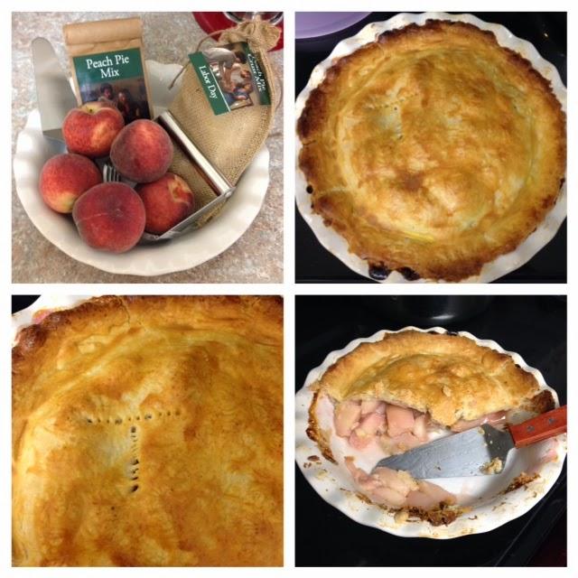 peach pie 4 photos